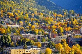 Nelson BC autumn