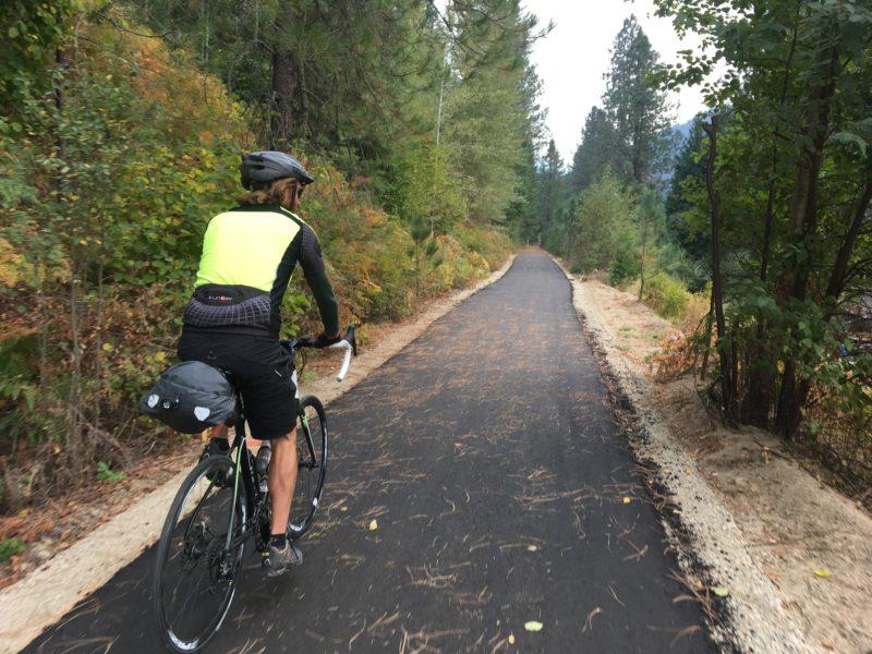 Slocan Valley Rail Trail autumn