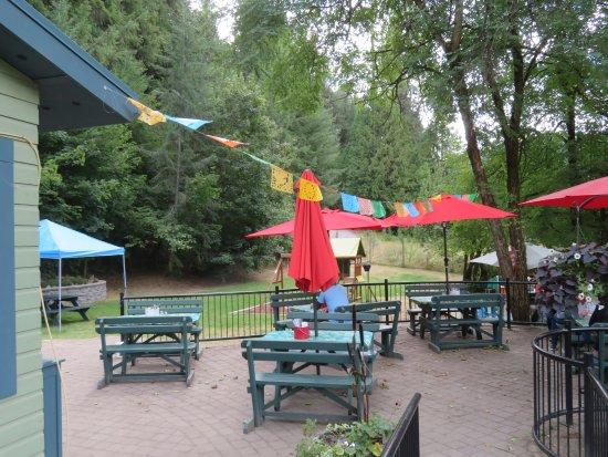 Frog Peak Cafe patio