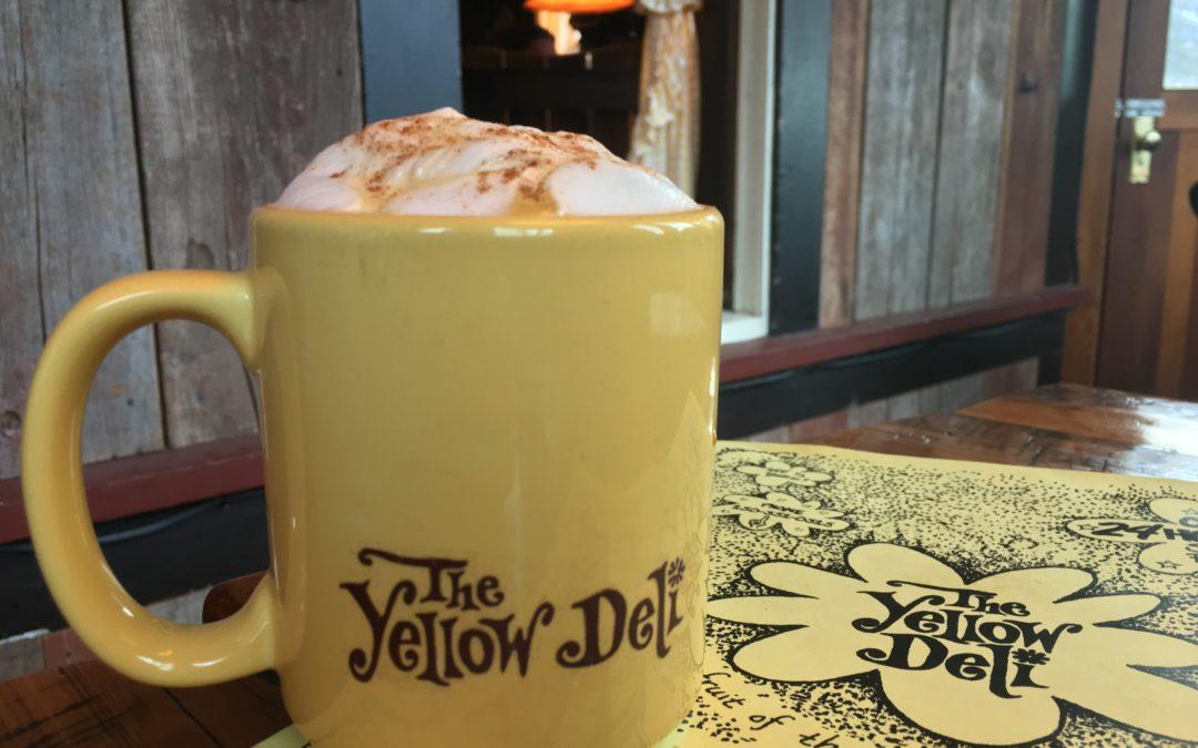 The Yellow Deli Nelson BC Chai Matte Latte