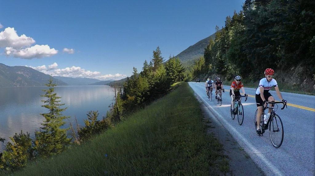 Kootenay Lake cycling